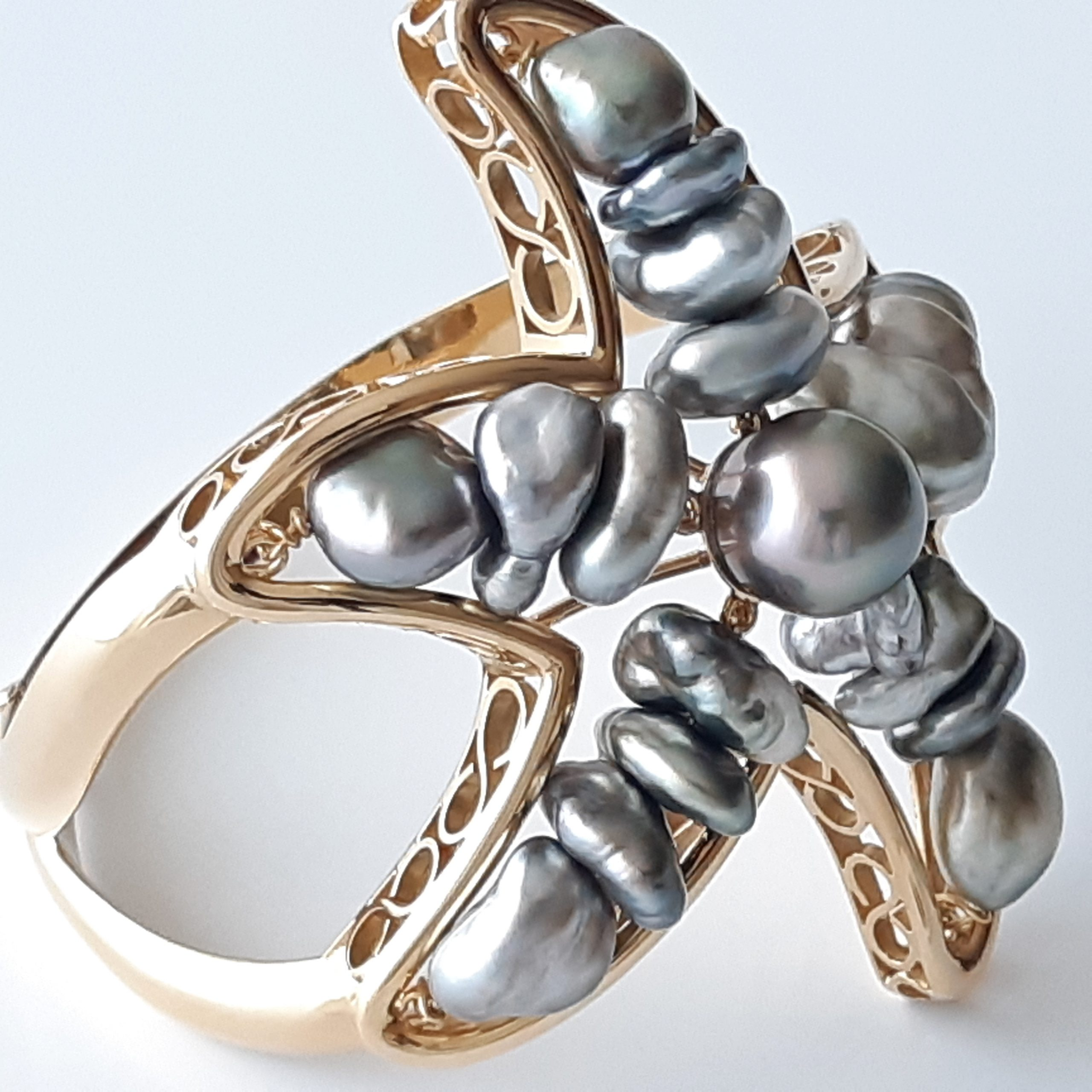 Brazalete perlas Tahití 328-