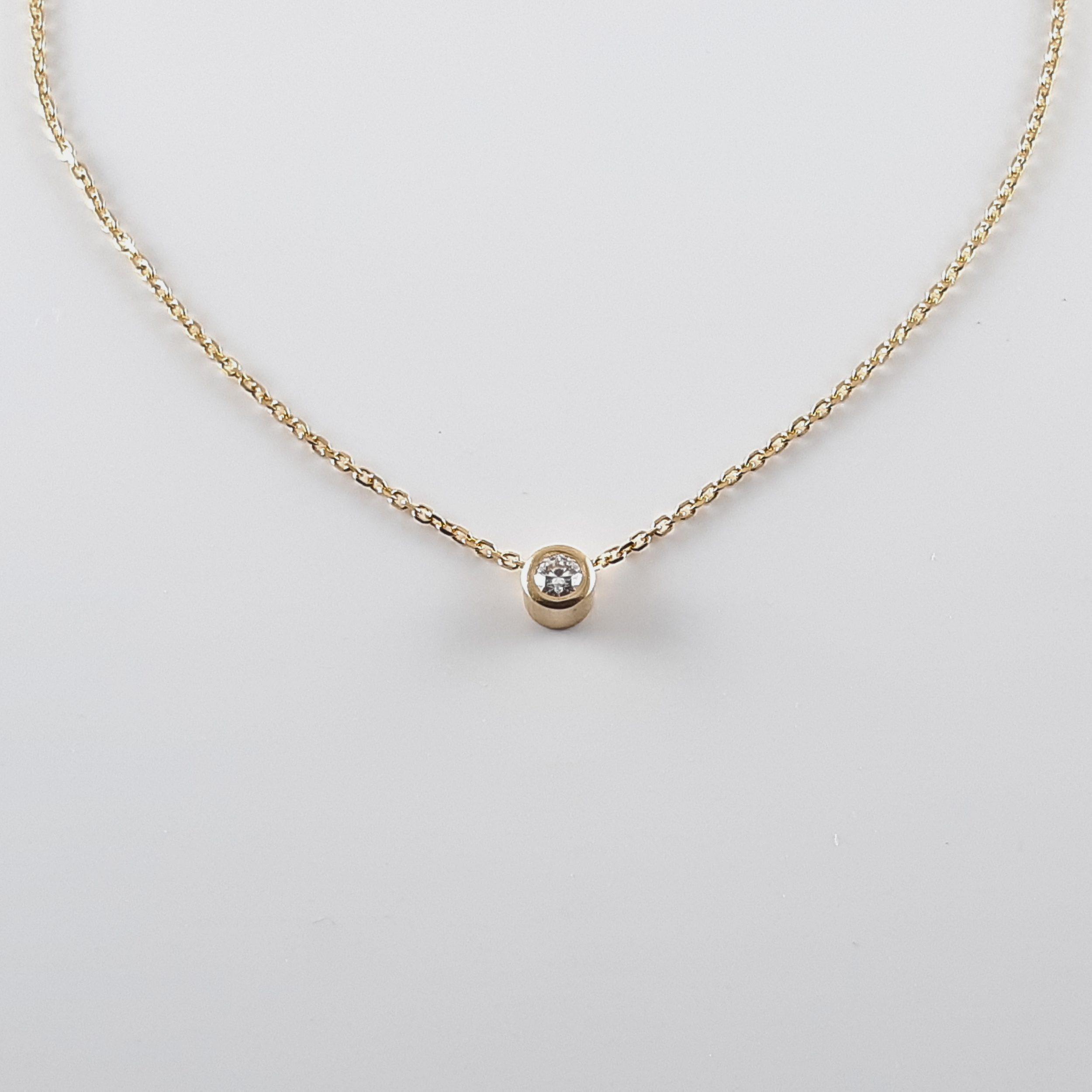 Colgante diamante 386