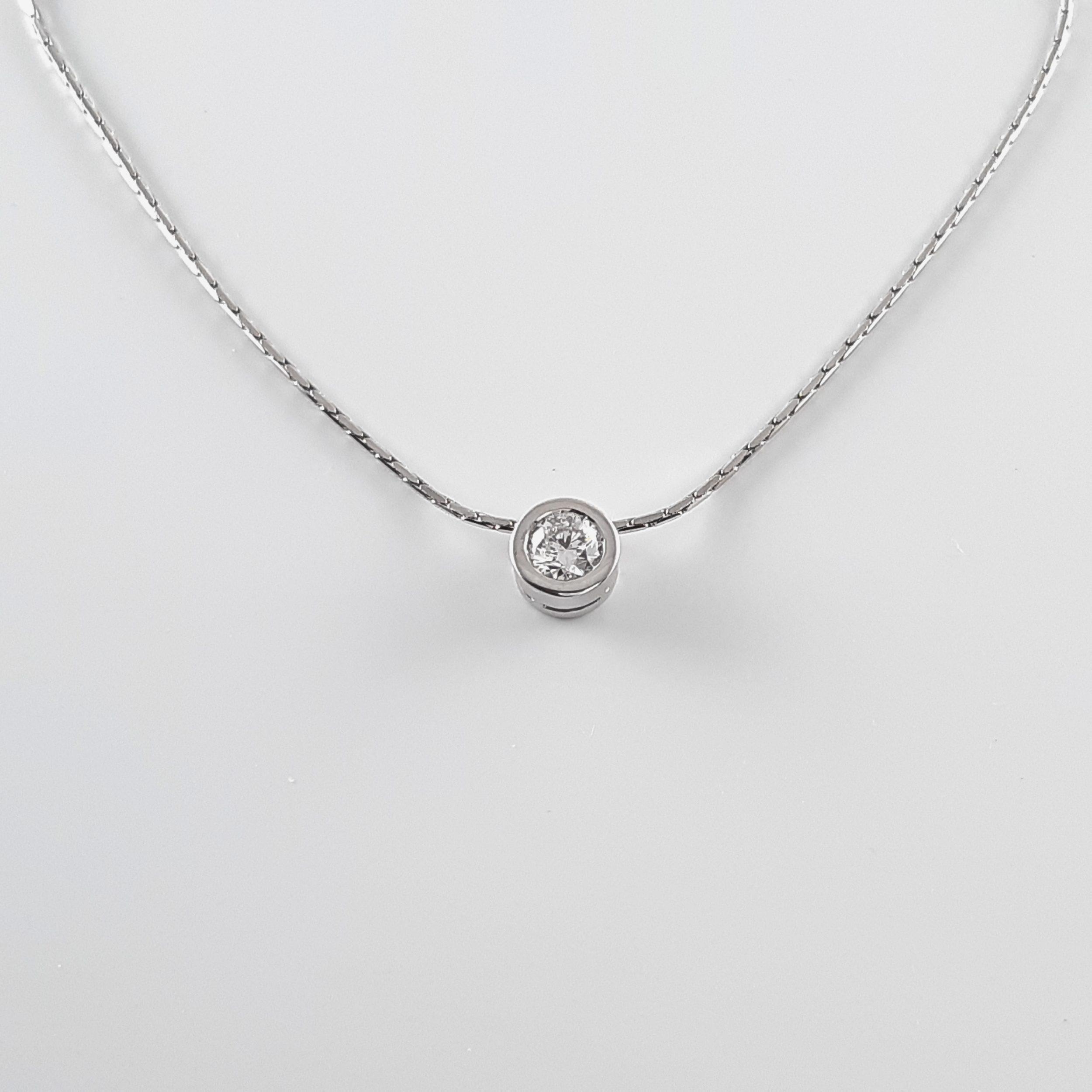 Colgante diamante 766