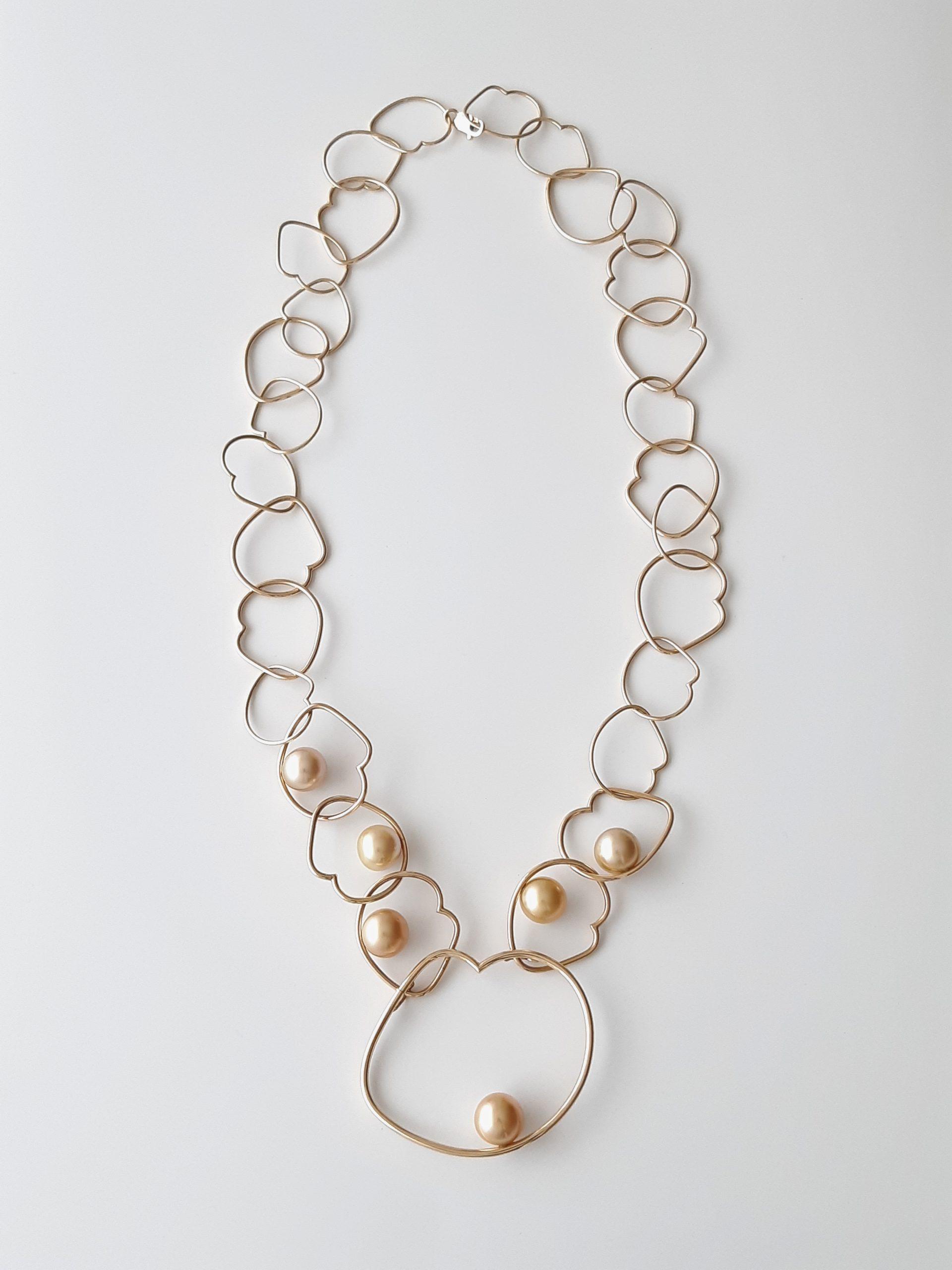 Collar perlas Golden 356-