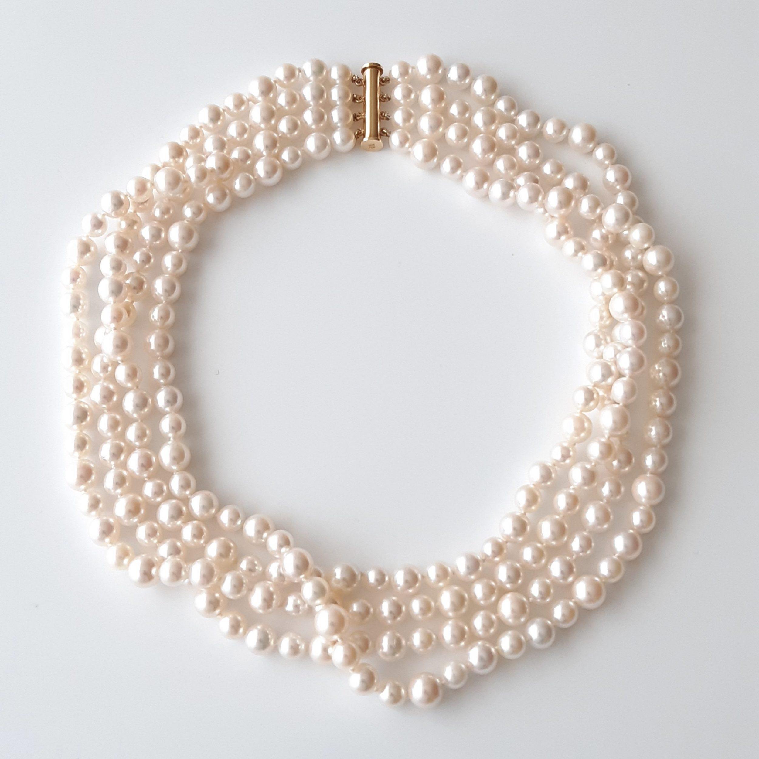 Collar perlas Japón 350
