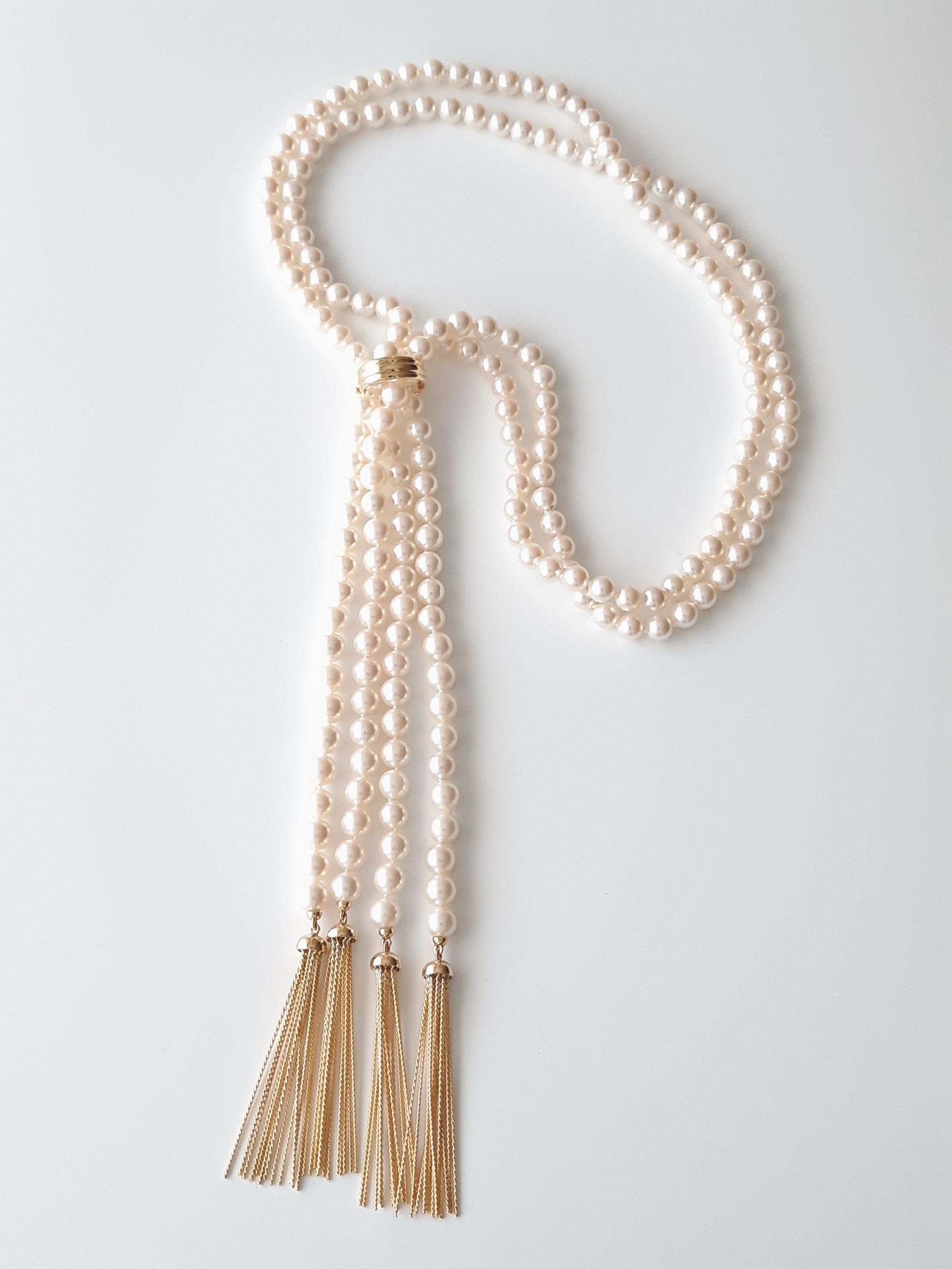 Collar perlas Japón 481
