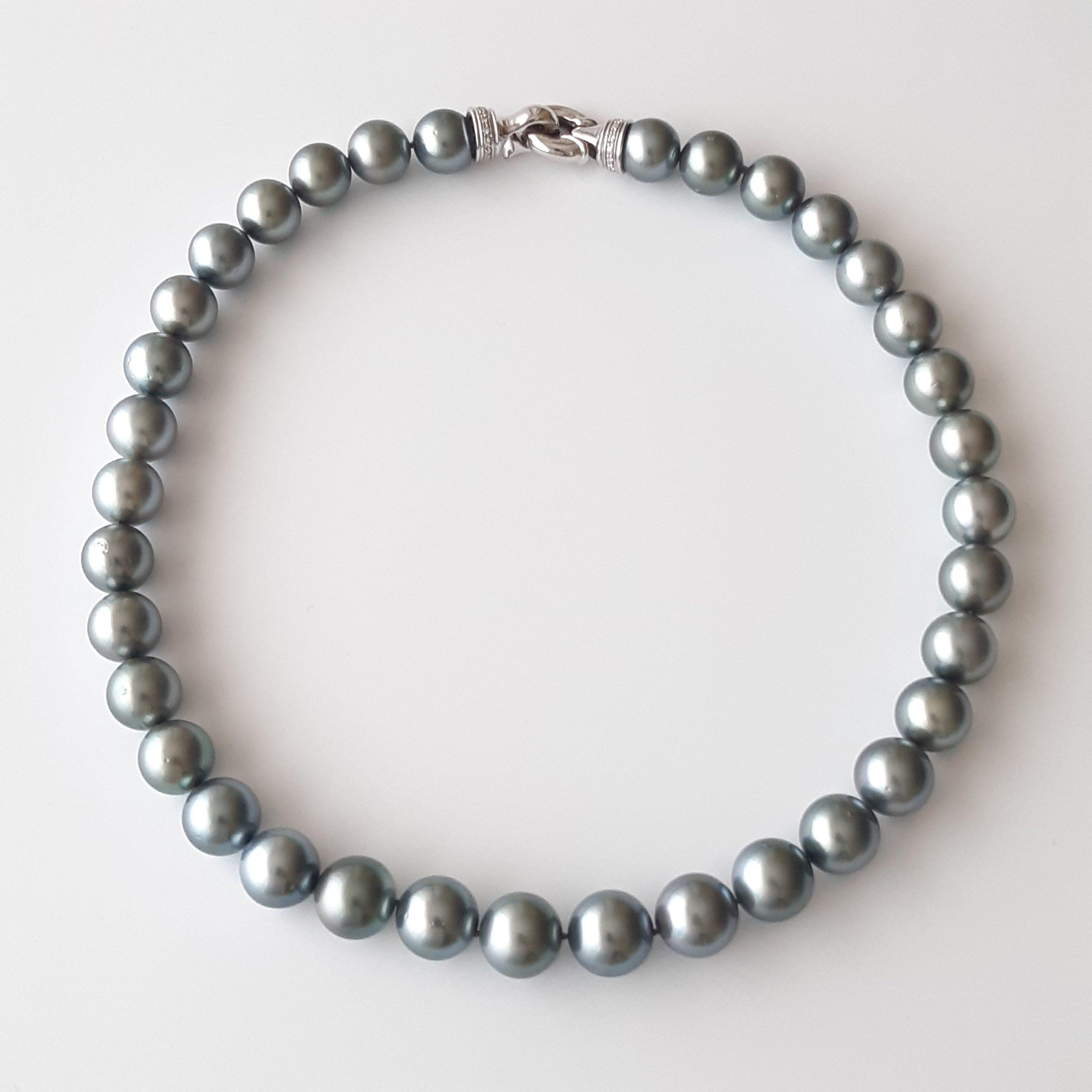 Collar perlas Tahití 042
