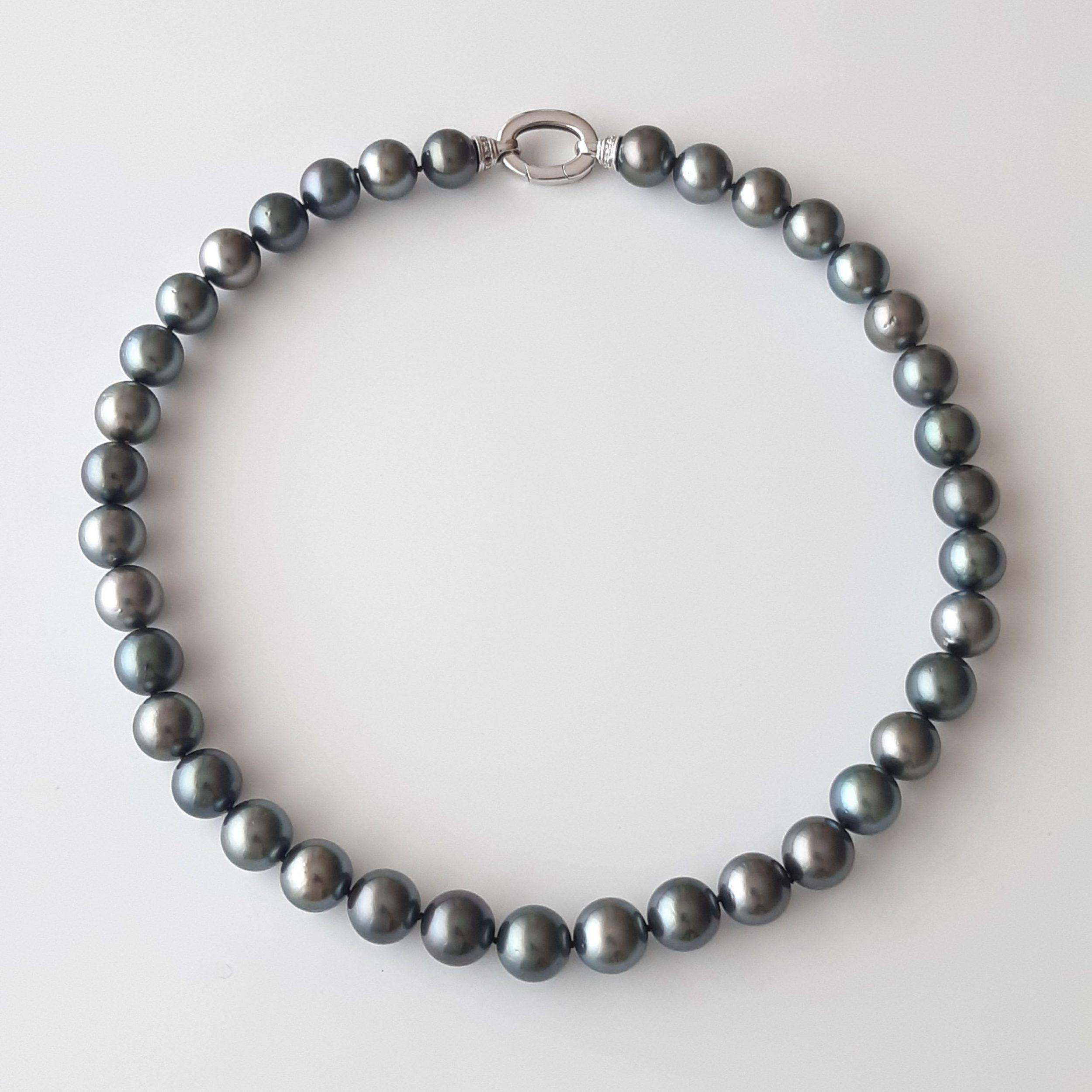 Collar perlas Tahití 045-