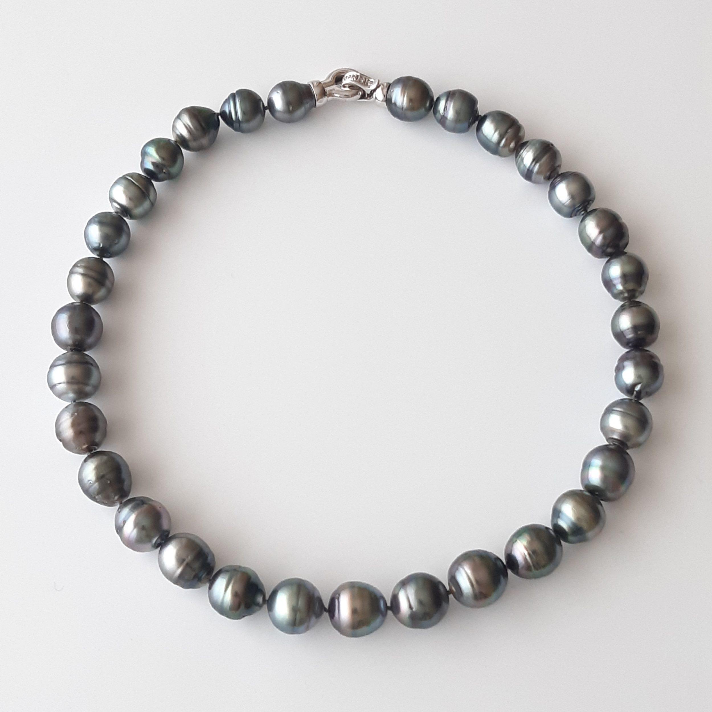 Collar perlas Tahití 428-