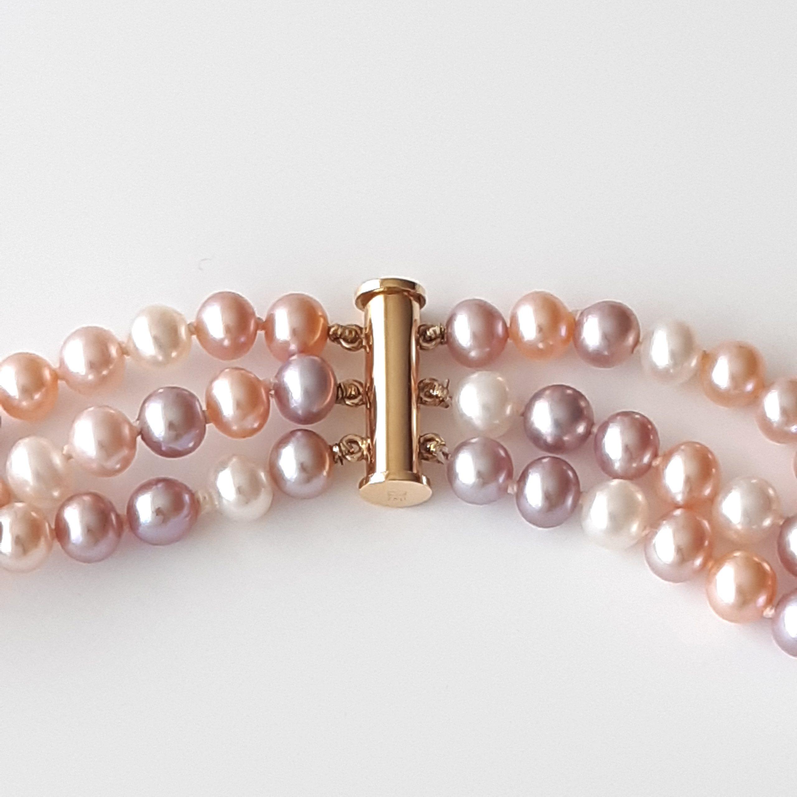 Collar perlas agua dulce 837-