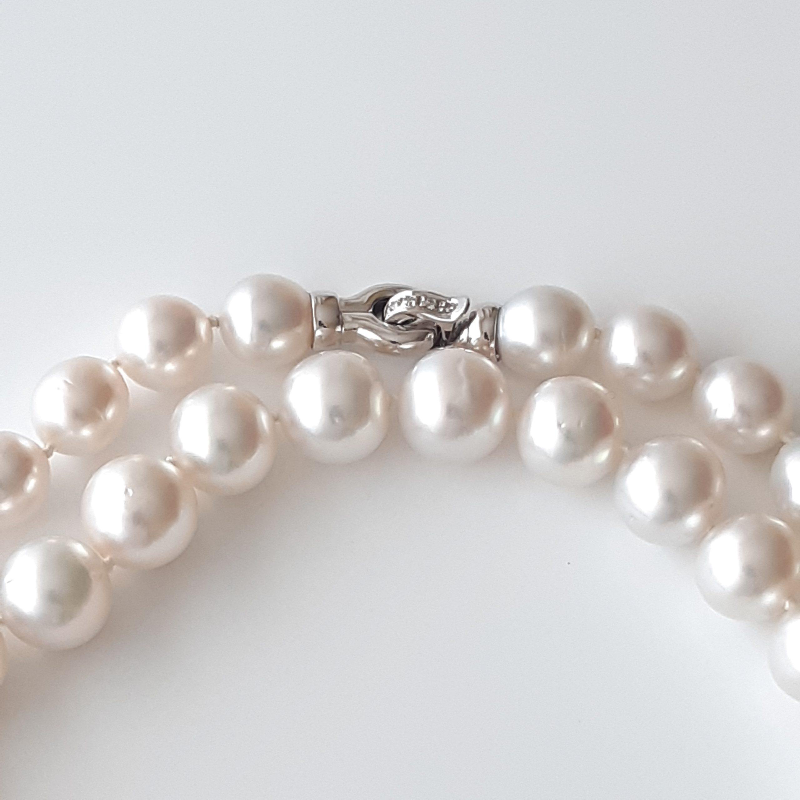 Collar perlas australianas 419