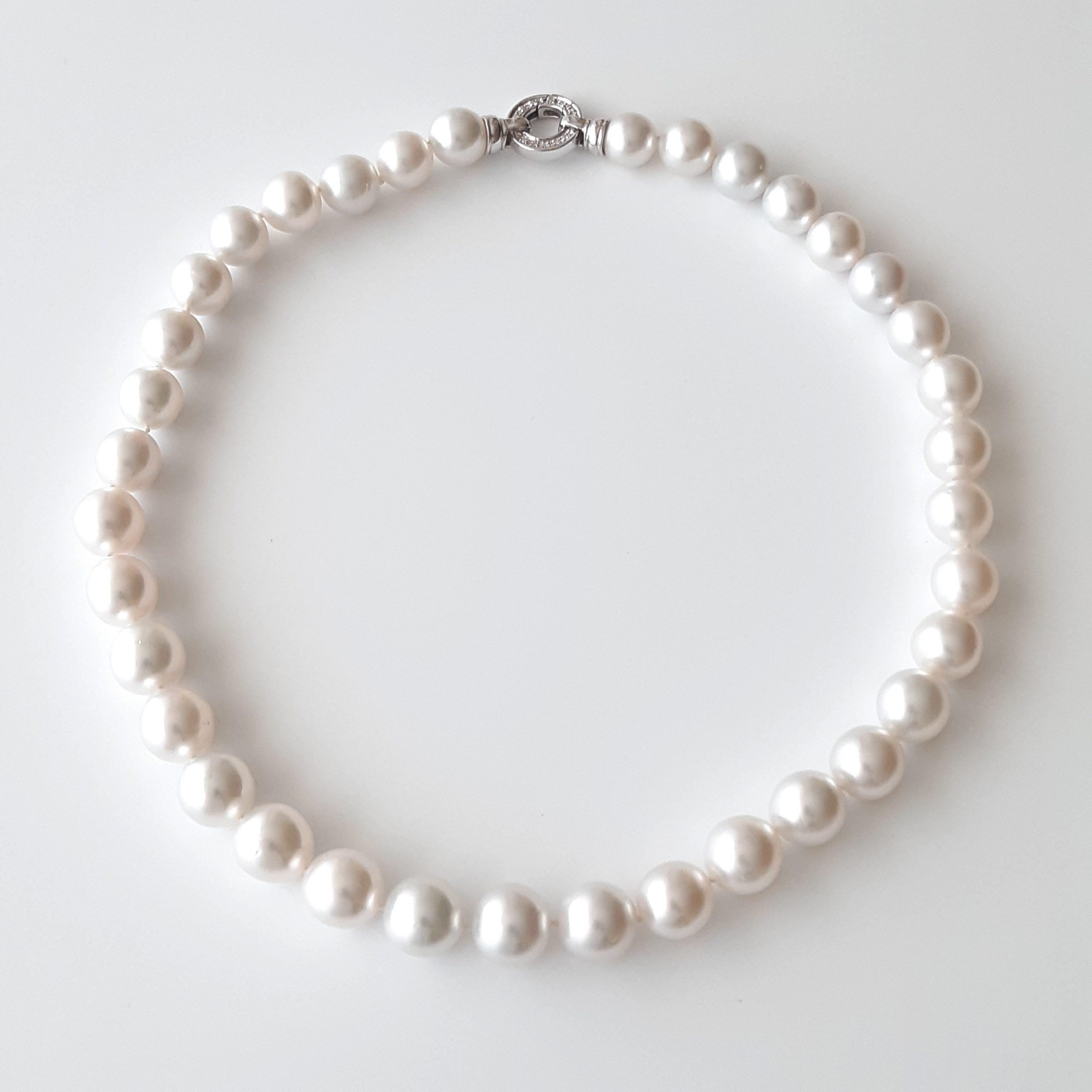 Collar perlas australianas 654