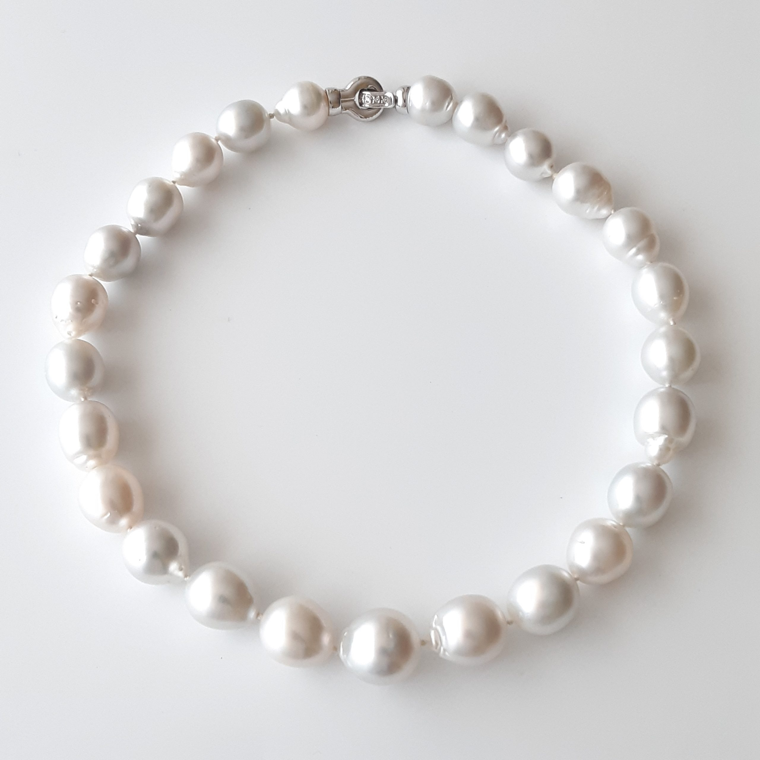 Collar perlas australianas 656