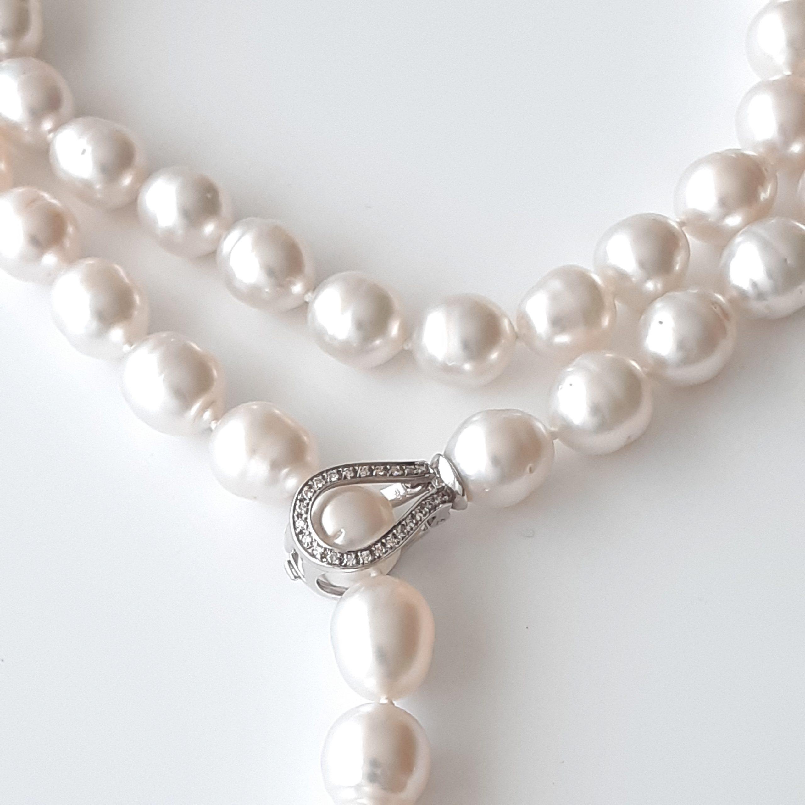 Collar perlas australianas 687-