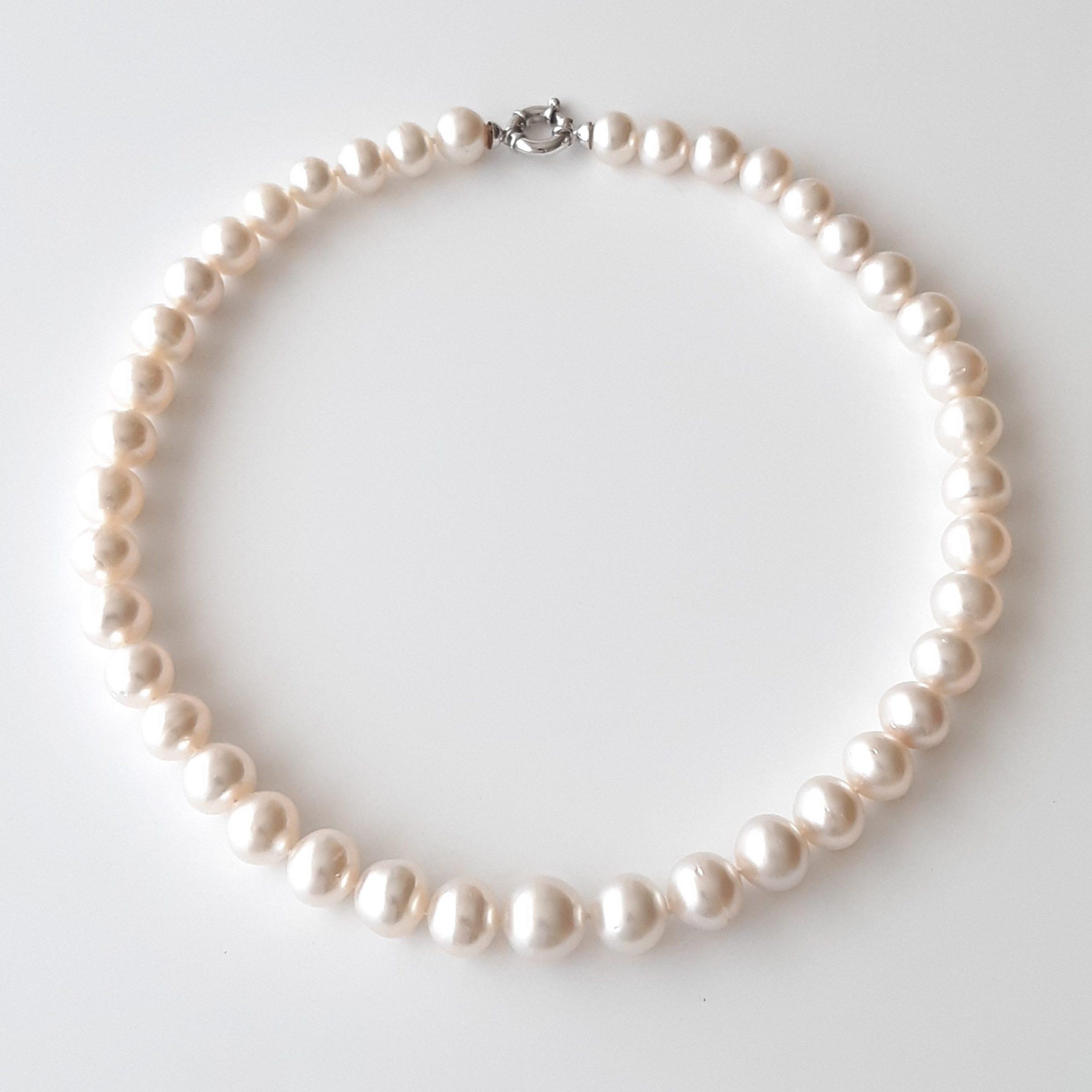 Collar perlas australianas 812