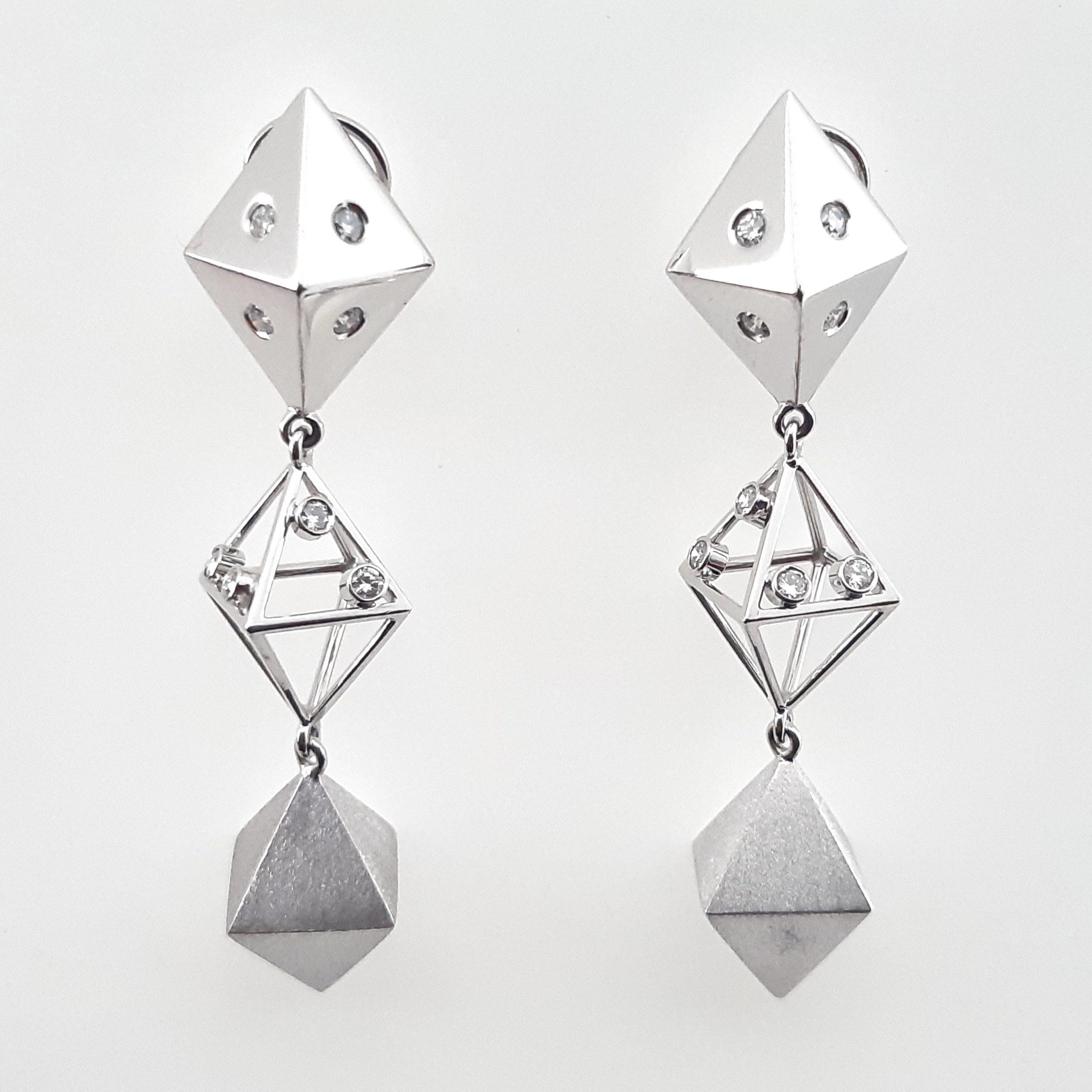Pendientes diamantes 569