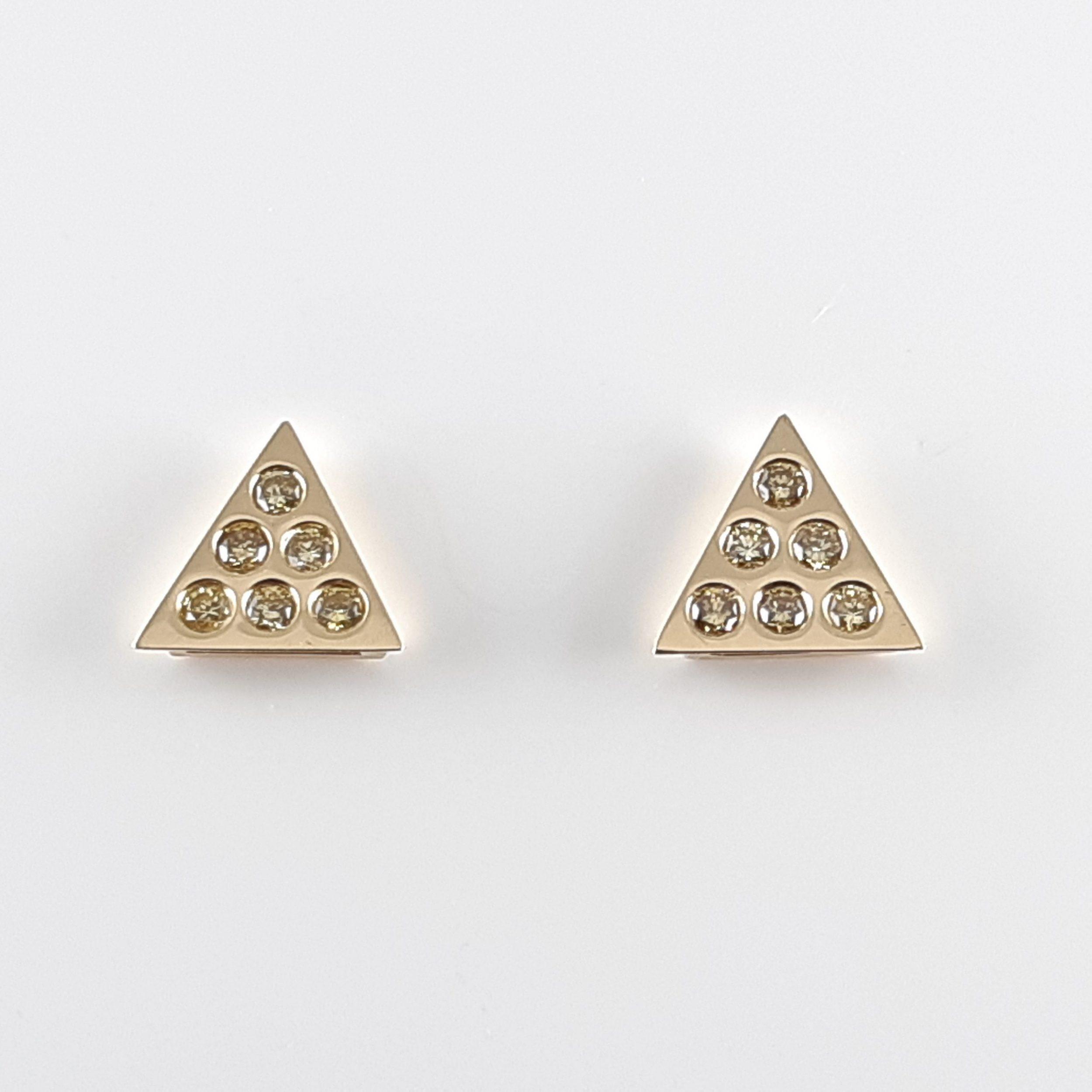 Pendientes diamantes 748