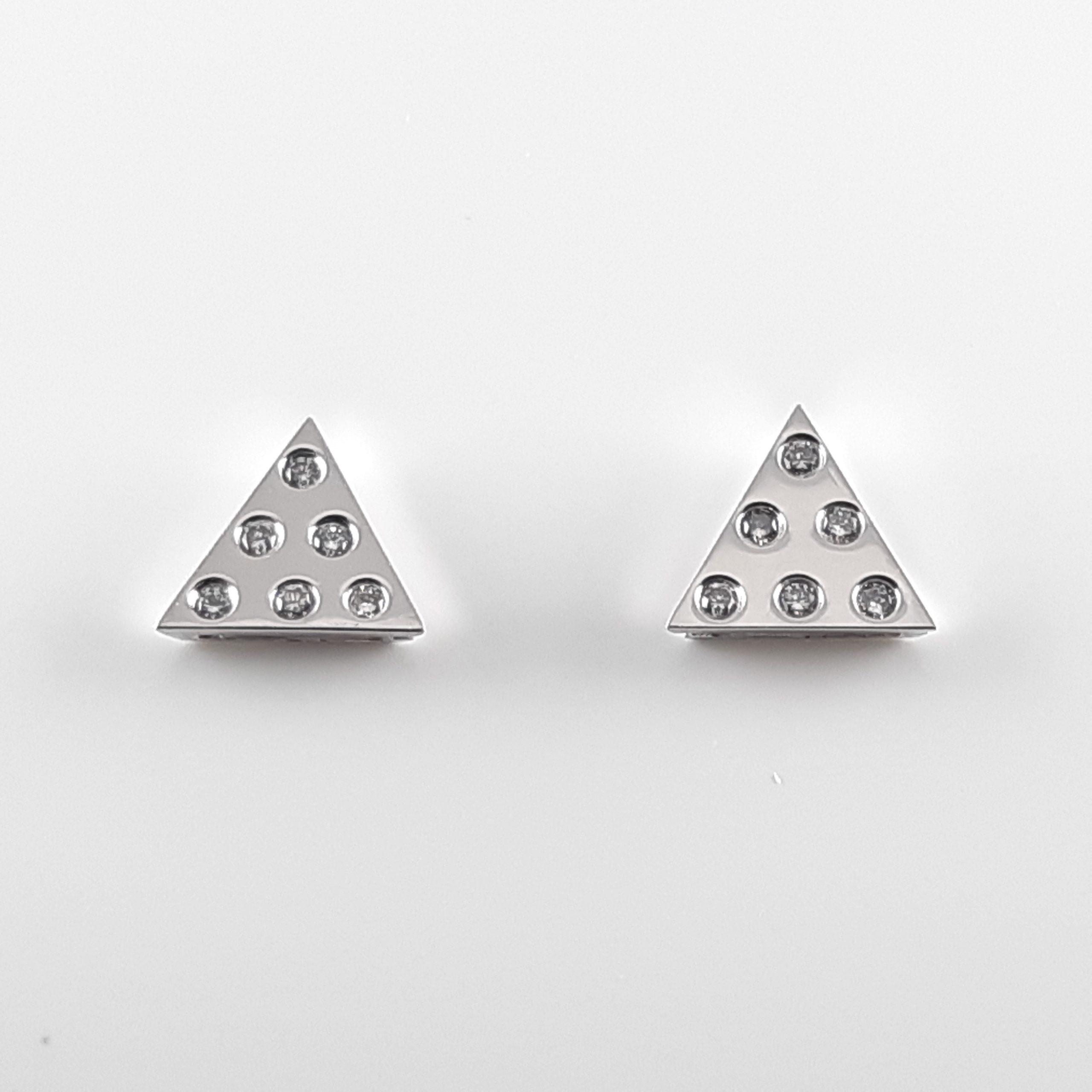 Pendientes diamantes 825