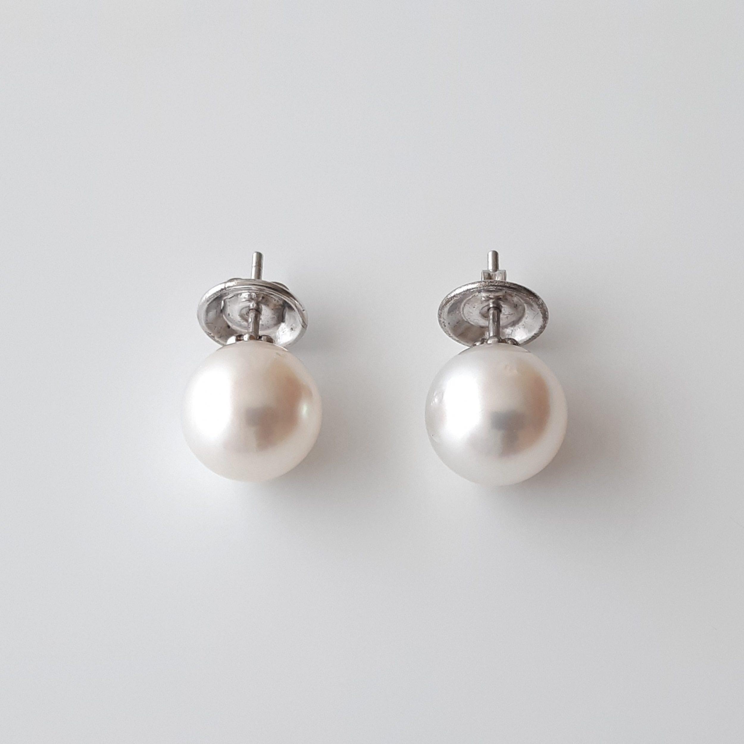 Pendientes perlas australianas 158