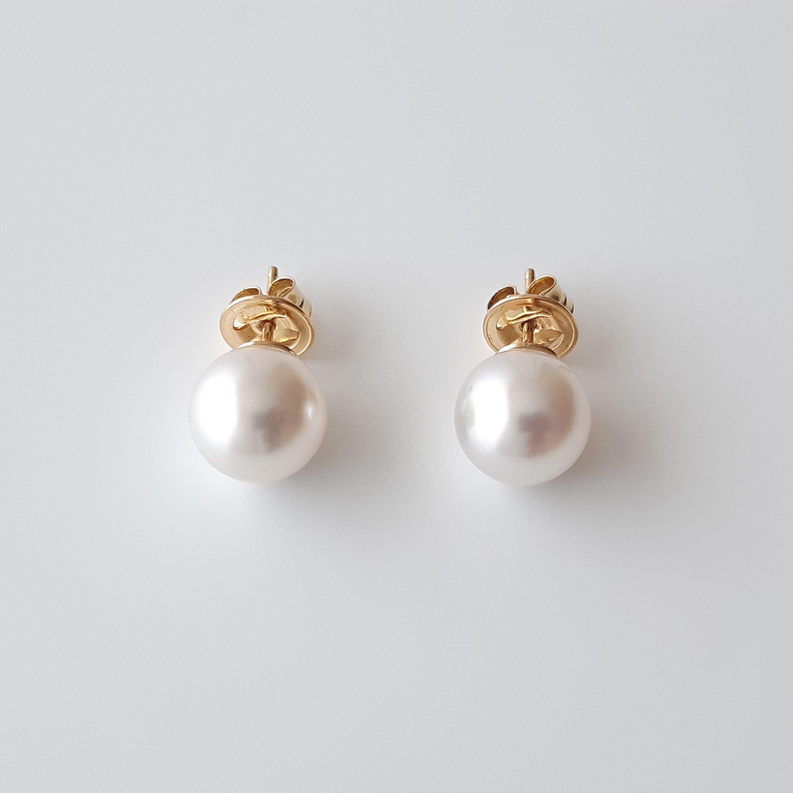 Pendientes perlas australianas 823