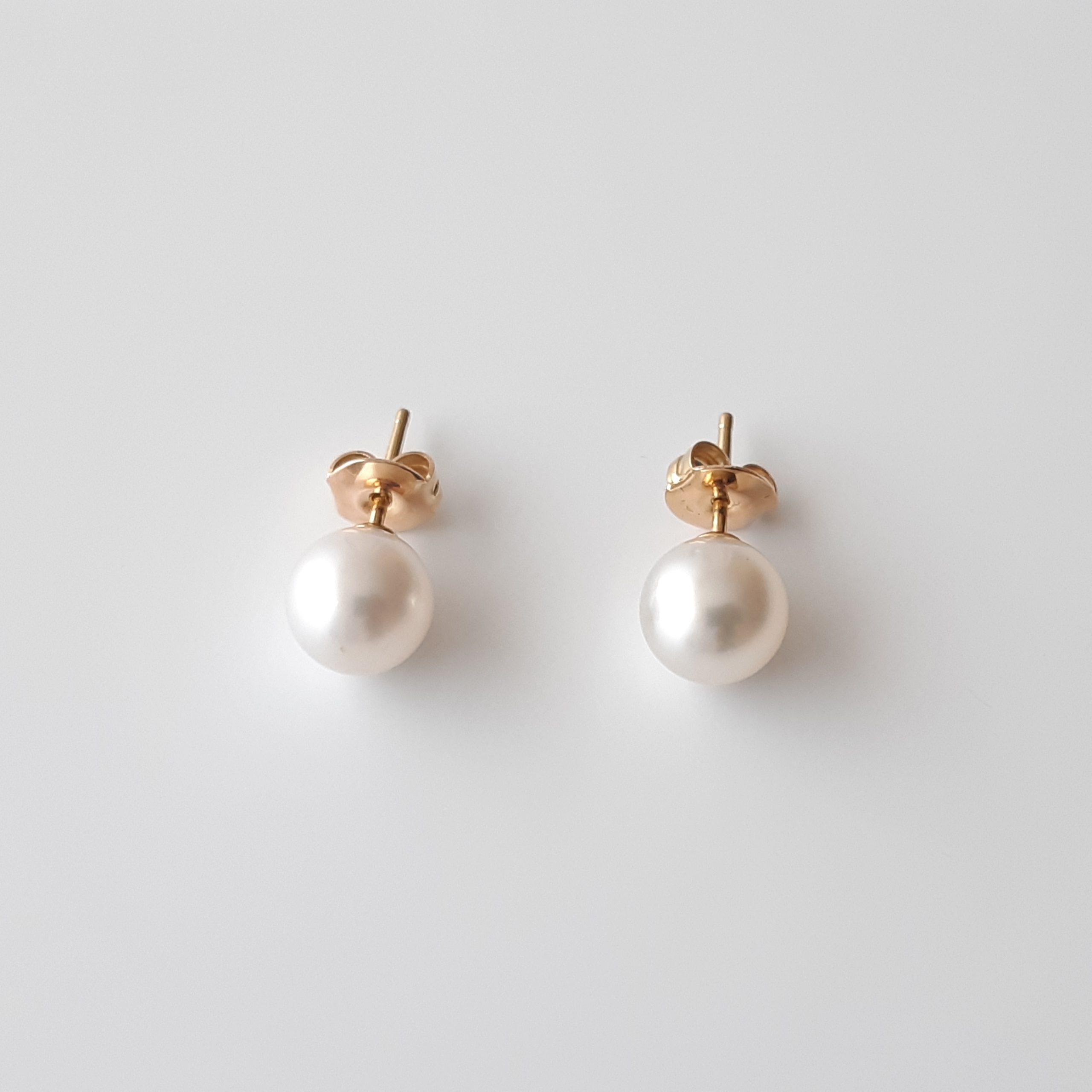 Pendientes perlas australianas 840